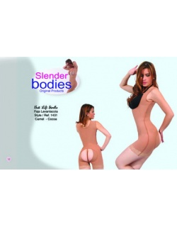 Item No.1431 Slender Bodies Catalog Butt lift Girdle Camel Cocoa