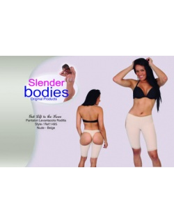Item No.1495 Slender Bodies Catalog Butt Lift to the knee Nude- Beige
